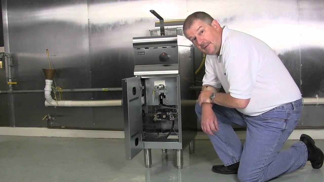 Lincat Gas Fryer Valve Set Up Youtube