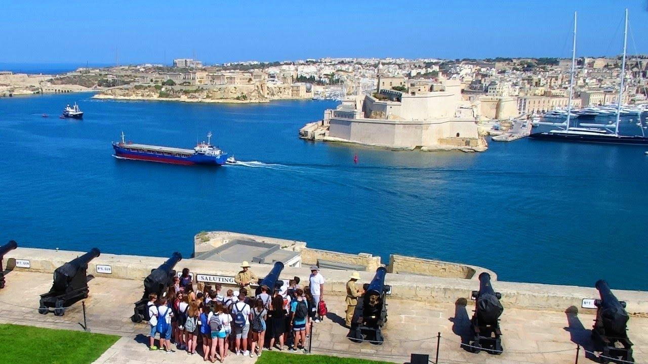 Grand Harbour - Port of Valletta, Malta - YouTube