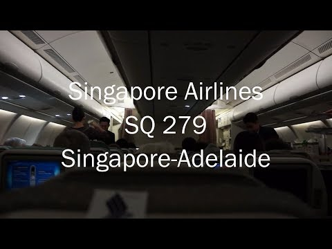 SIngapore Airlines Airbus A330-300 Flight Report: SQ 279 Singapore to Adelaide