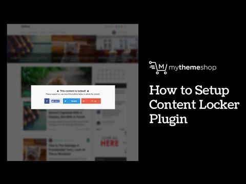 Content Locker Free WordPress Plugin by MyThemeShop