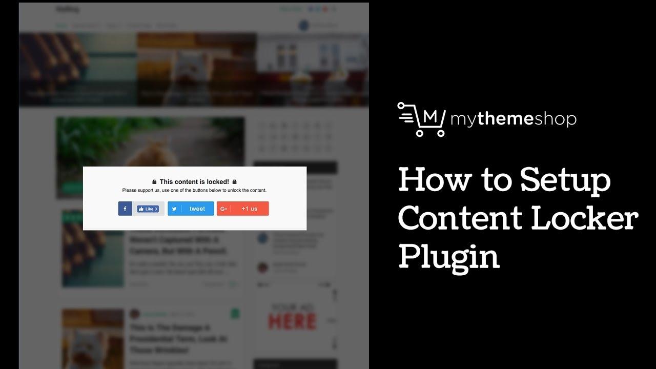 Content Locker – WordPress plugin | WordPress org