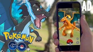 Pokemon GO | EPIC CRAZY CLOSE BATTLE WITH SUPER RARE POKEMON! CHARIZARD GAMEPLAY!