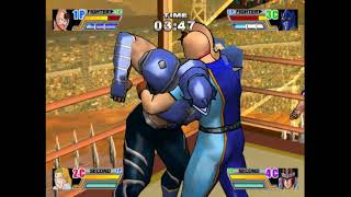 A demo of Aki and Bandai's wrestling game which would be localized ...