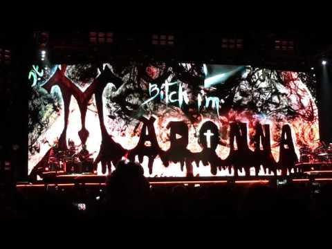 11 Madonna in Barcelona=Spain=España. Amazing graphics!