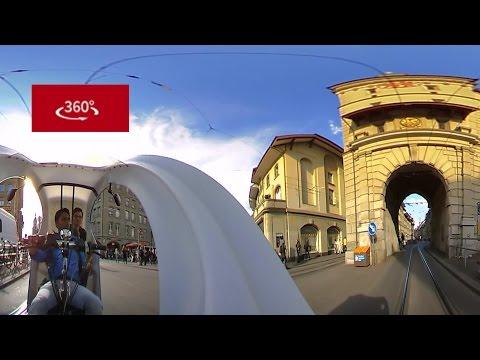 Bern's slumdog rickshaw driver in 360