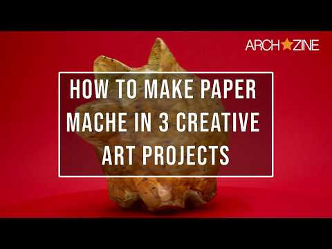 EASY PAPER MACHE ART PROJECTS