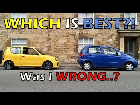 Seicento vs Matiz - WAS I WRONG? [HubNut Daewoo Matiz review Conclusion]