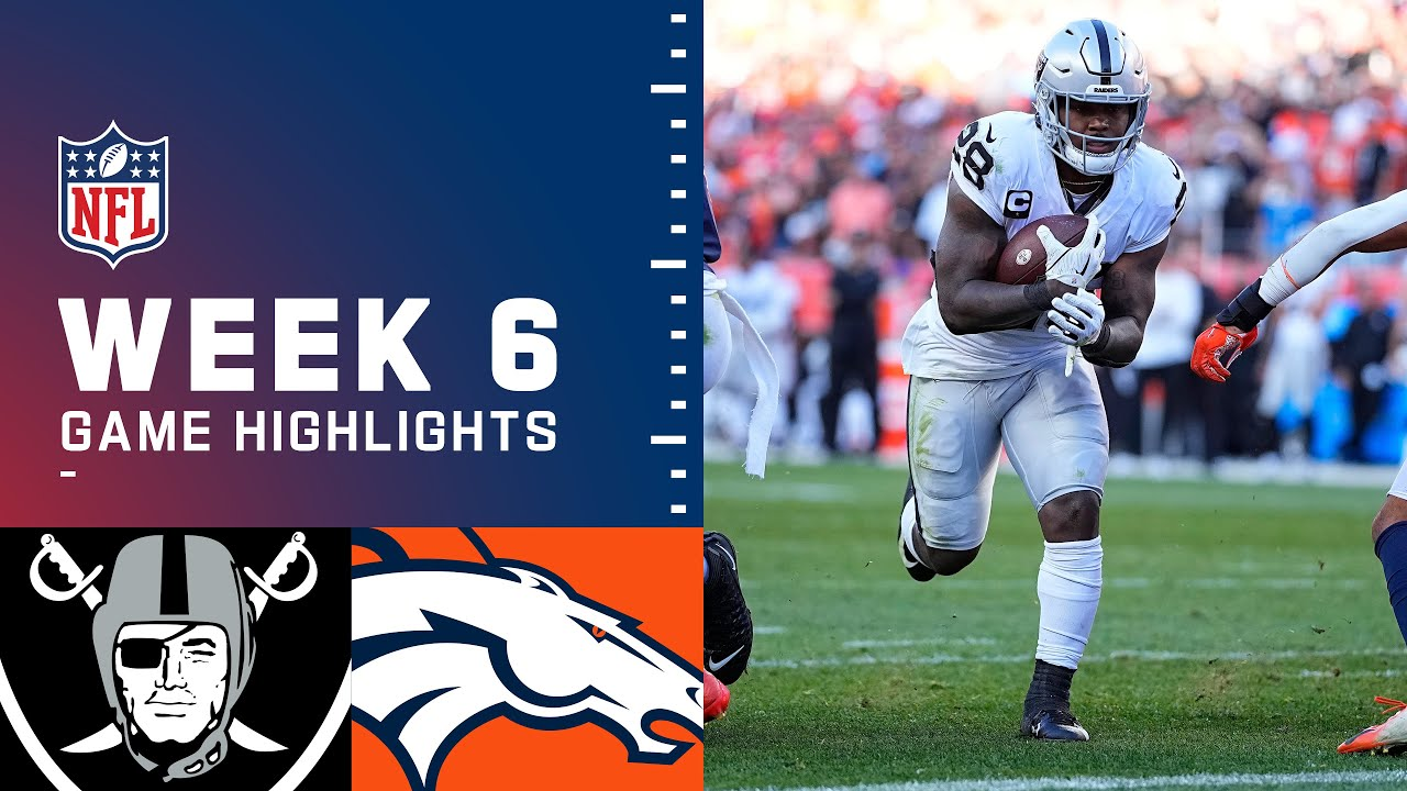 2021: Denver Broncos vs. Las Vegas Raiders - Live updates from ...