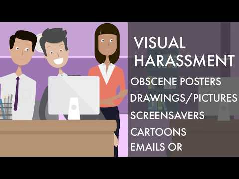 Ten types of sexual harassment