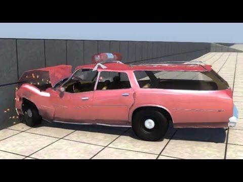 BeamNG.drive - Bruckell Moonhawk Sedan & Station wagon