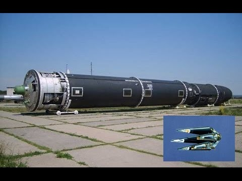 Top 10 Deadliest Nuclear Missiles (ICBM) in the World 2015