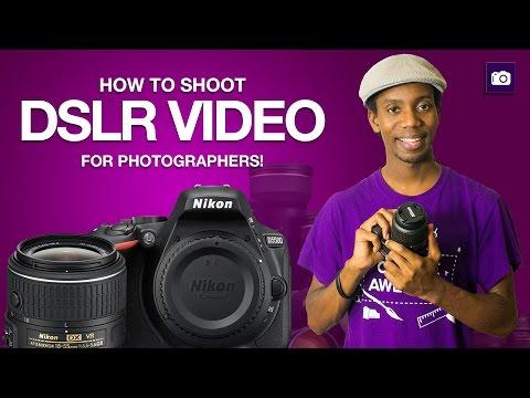 How To Shoot DSLR VIDEO   DSLR VIDEO Tutorial for Photographers