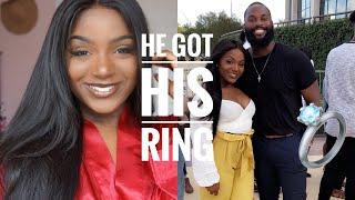 GRWM + Vlog | Malik Gets His Ring! | Beauty Forever Hair