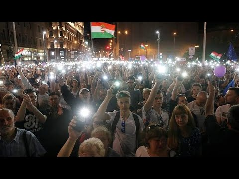 Second Saturday protest tackles Hungary government on media freedom