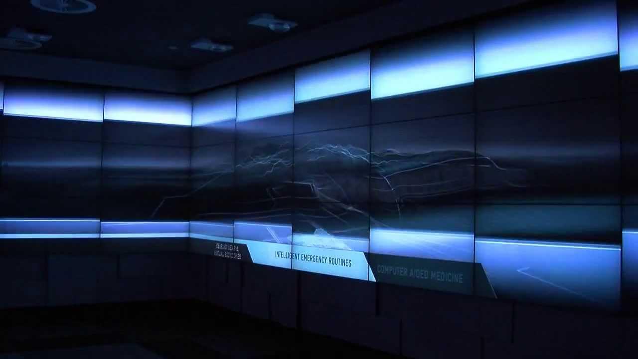 Telstra - Interactive Showroom   || Ventuz