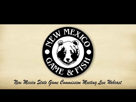 New Mexico State Game Commission Special Meeting - April 20, 2020