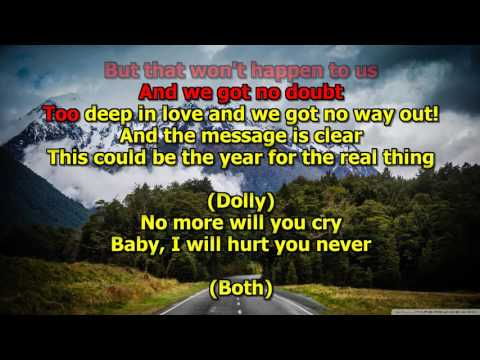 Islands In The Stream - Kenny Rogers and Dolly Parton (Karaoke) HD