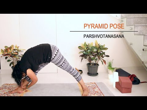 Pyramid Pose | Parshvotanasana |Strong legs | Yoga For Midlife
