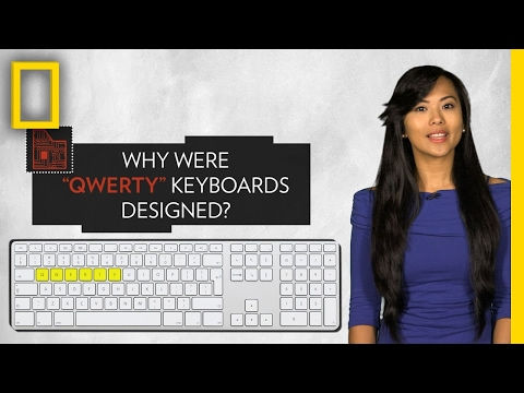 Do You Know Where the QWERTY Keyboard Came From? | Pop Quiz