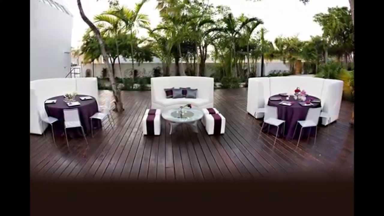 salas y muebles lounge para bodas y eventos sociales youtube