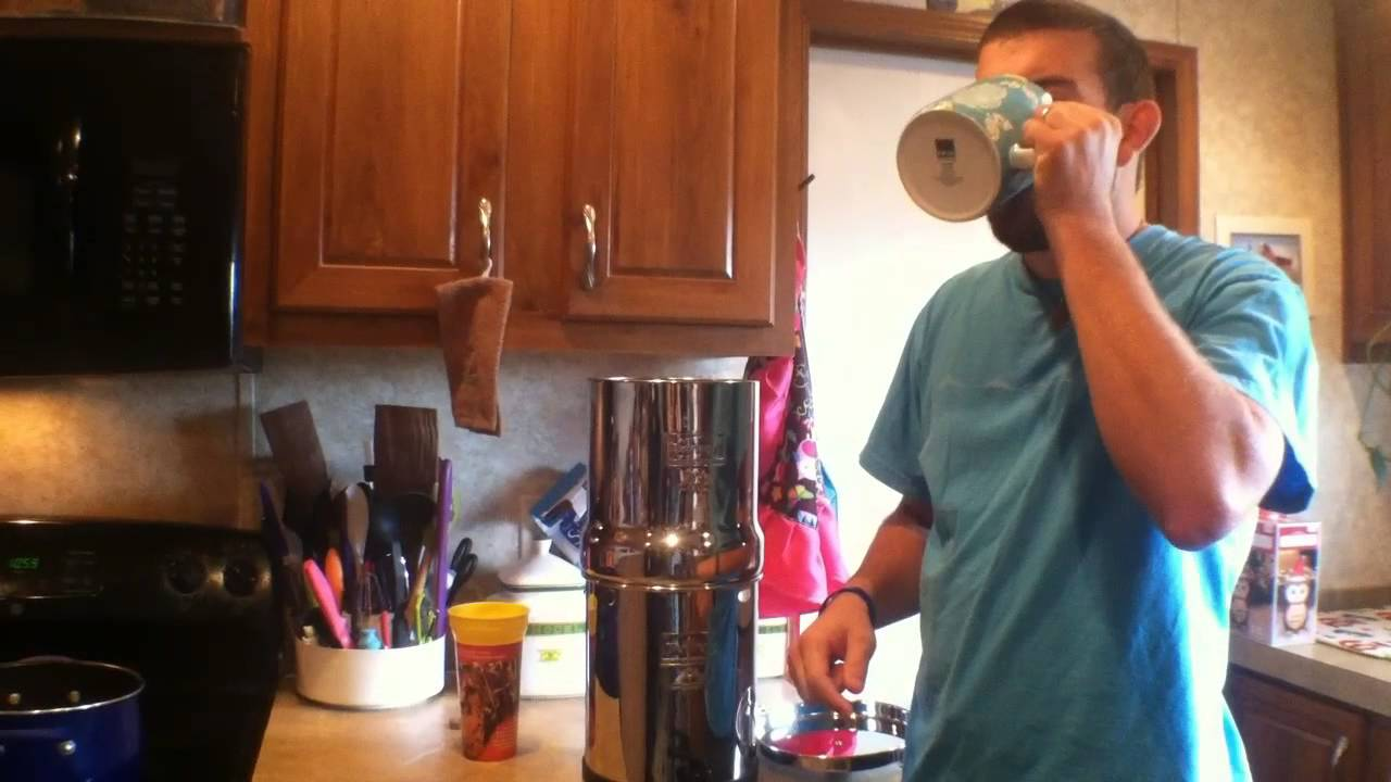 Big Water Filter Systems Big Berkey Water Filter System Review Assembly And Water Test
