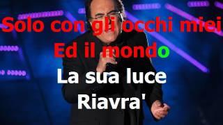 Albano - Pregherò (cover Sanremo 2017) KARAOKE