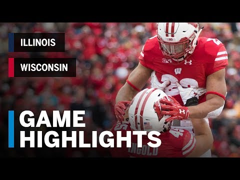 Wisconsin Sports - Video Highlights: Wisconsin 49, Illinois 20