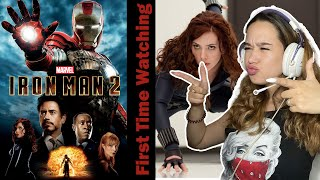 Russian Teen First Time Watching - Iron Man 2) | Movie React & Review | MCU Journey Continues!
