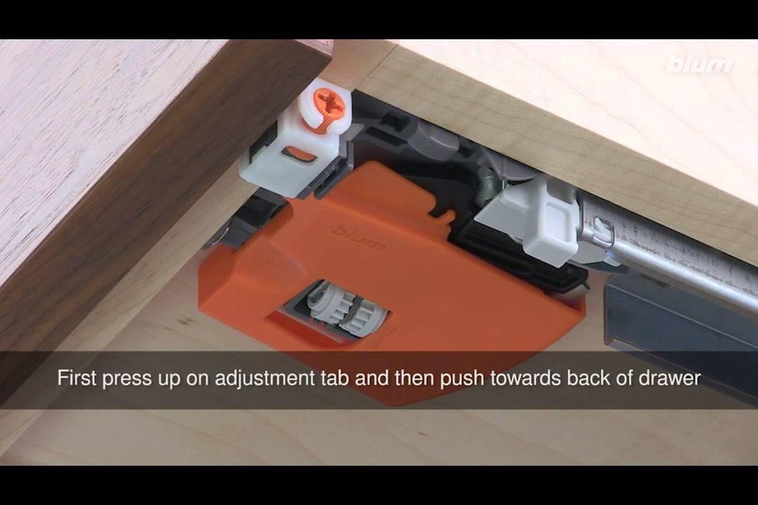 Blum Tandem Height And Tilt Cabinet Drawer System