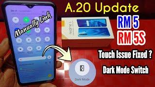 Realme 5 A.20 Update | Realme 5S A.20 Update | Realme 5 Update | Realme 5S Update Dark Mode Switch