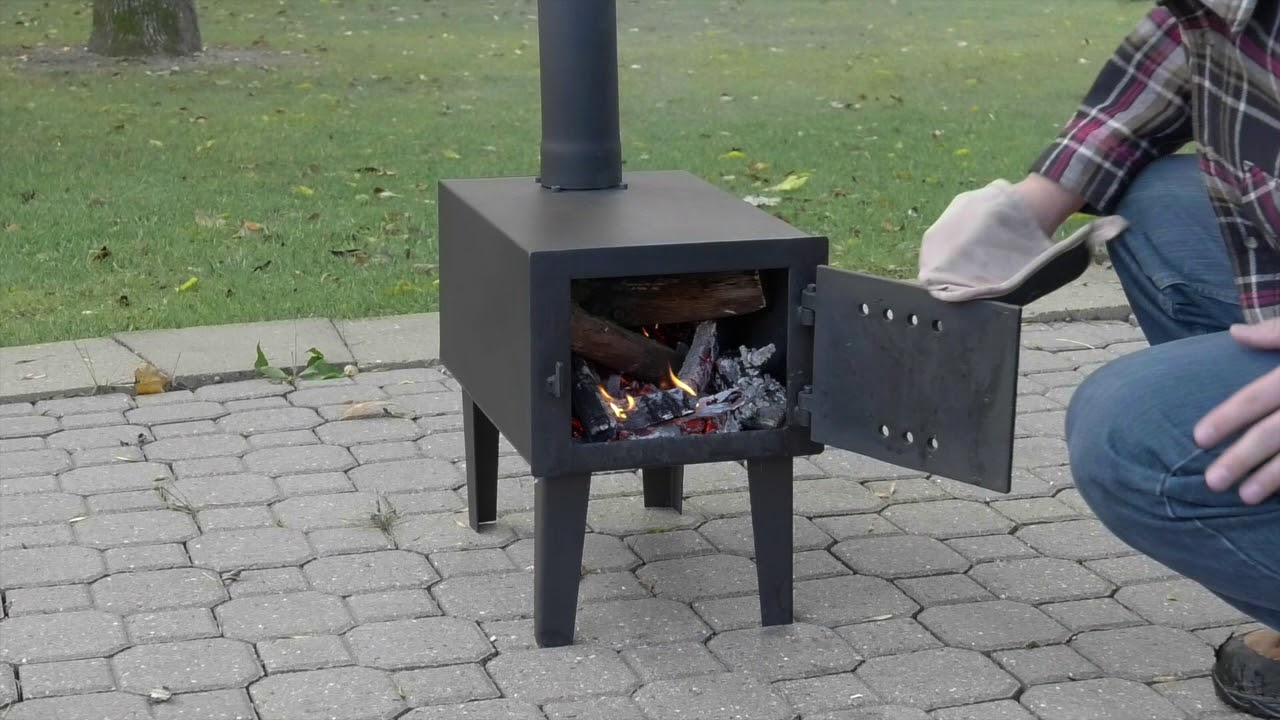 outdoor wood burning fireplace Outdoor Wood Burning Stove   YouTube outdoor wood burning fireplace