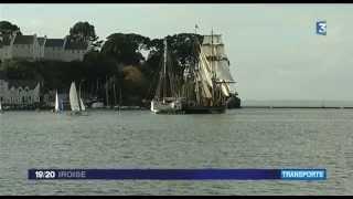Transport de marchandises à la voile entre Bretagne et Aquitaine (VF)