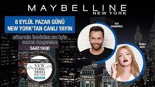 DANLA BİLİC İLE NEW YORK MODA HAFTASI ÖZEL CANLI YAYIN!