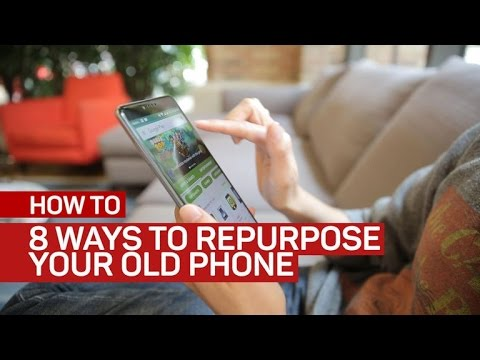 Ashley - Ways to Repurpose Your Old Smartphone!!