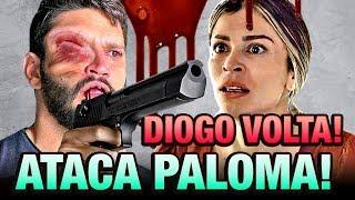 Bom Sucesso - A Volta Diabólica de Diogo, Ele Tentará acabar com Paloma em Plena Avenida!