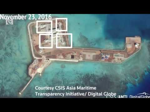 Beijing completing possible South China Sea missile buildings