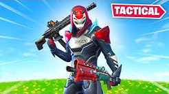Fortnite but TACTICAL Weapons ONLY!