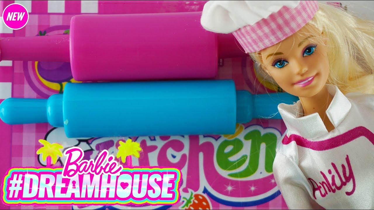 Mainan Anak Perempuan Masak Masakan! Anak Anak Bermain dengan Mainan Dapur!Barbie Gadis! Mainan Anak