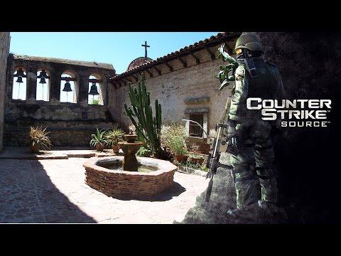 Counter Strike Source Gameplay Español de inferno de dust2 cs militia