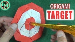 Origami Target by Jeremy Shafer (no music)
