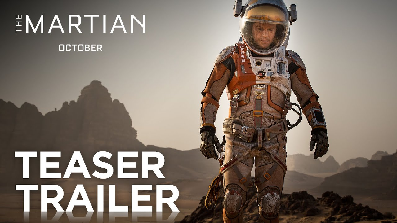 The Martian | Teaser Trailer [HD] | 20th Century FOX