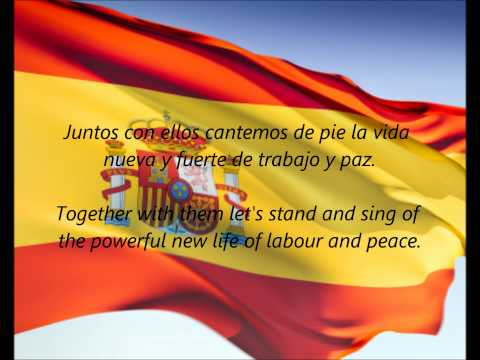 "Spanish National Anthem - ""La Marcha Real"" (ES/EN)"