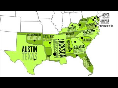 Search Eastern States And Capitals Song And Download Youtube To - Map Of Us State Capitals