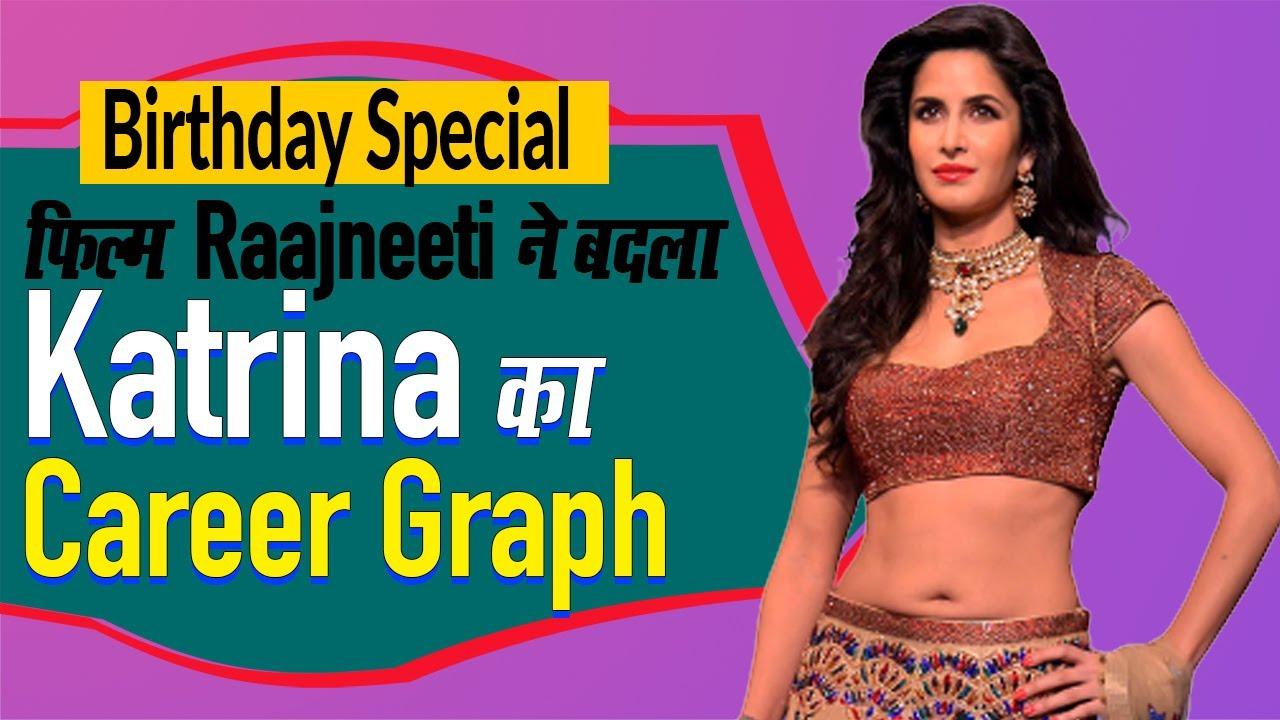 Katrina Kaif Birthday Special | फिल्म Raajneeti ने बदला Katrina Kaif का Career Graph