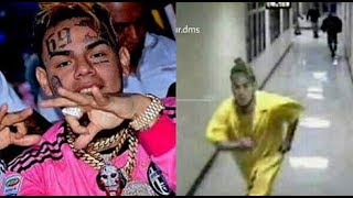 6IX9INE Photo Goes Viral On Instagram Him Running From Crips In Jail...DA PRODUCT DVD