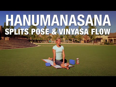 Hanumanasana - Splits Pose & Yoga Flow Class - Five Parks Yoga