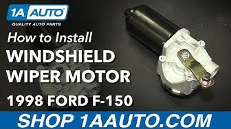 How to Replace Windshield Wiper Motor 97-03 Ford F-150