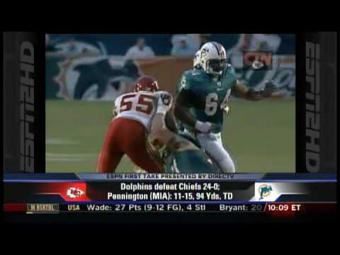 ESPN2 First Take -- Chad Pennington