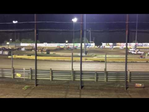 World of Outlaws Action at New Egypt