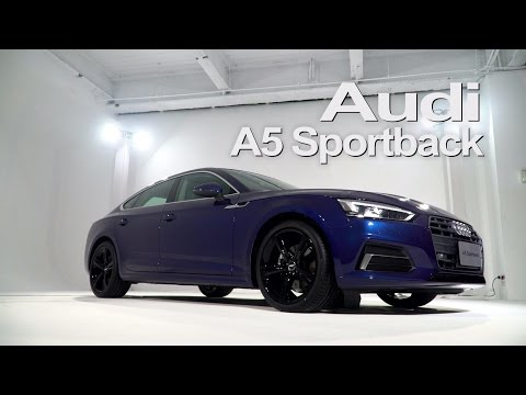 全新世代Audi A5 Sportback搶先曝光 - 廖怡塵【全民瘋車Bar】